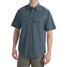 Royal Robbins Boundary Shirt - UPF 30+, Short Sleeve (For Men) in Slate - Closeouts