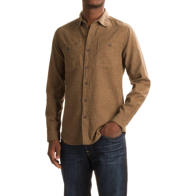 Royal Robbins Bristol Tweed Flannel Shirt (For Men) - Save 66%