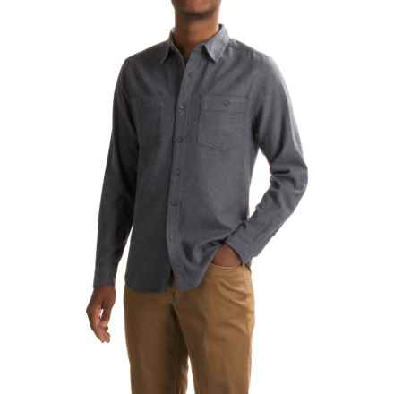 Royal Robbins Bristol Tweed Flannel Shirt - UPF 50+, Long Sleeve (For Men) in Navy - Closeouts