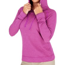 Royal Robbins Briza Hoodie Sweatshirt - Moisture Wicking (For Women) in Bougainvil - Closeouts