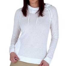 Royal Robbins Briza Sweatshirt - Moisture Wicking (For Women) in White - Closeouts