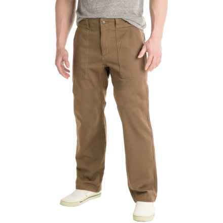 Royal Robbins Brushed Back Pants (For Men) in Cocoa - Closeouts