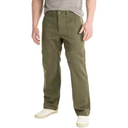 Royal Robbins Brushed Back Pants (For Men) in Loden - Closeouts