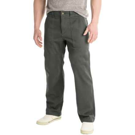 Royal Robbins Brushed Back Pants (For Men) in Obsidian - Closeouts
