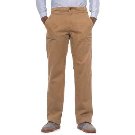 Royal Robbins Brushed Back Twill Pants - UPF 50+ (For Men) in Cocoa - Closeouts
