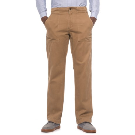 Royal Robbins Brushed Back Twill Pants - UPF 50+ (For Men) in Cocoa