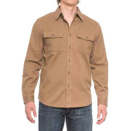 Royal Robbins Brushed Back Work Shirt - UPF 50+, Long Sleeve (For Men) in Cocoa - Closeouts