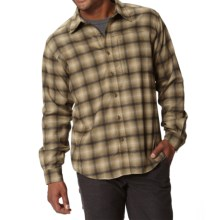 Royal Robbins Bryant Flannel Shirt - UPF 50+, Thermal, Long Sleeve (For Men) in Fatigue Green - Closeouts