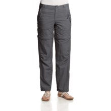 Royal Robbins Cabo Convertible Pants (For Women) in Charcoal - Closeouts