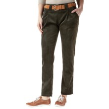 Royal Robbins Cafe Cord Ankle Pants - UPF 50+ (For Women) in Dark Galaxy Green - Closeouts