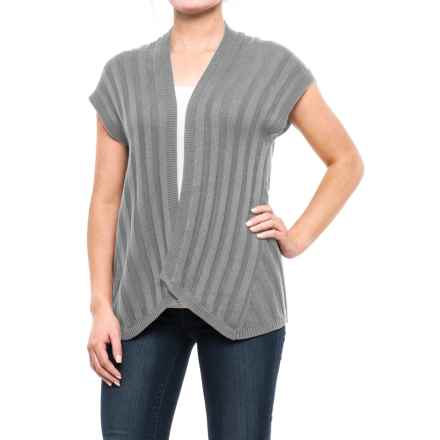 Royal Robbins Calaveras Open-Front Cardigan Sweater - Short Sleeve (For Women) in Moon - Closeouts