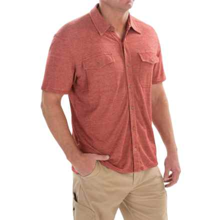 Royal Robbins Canamo Shirt - UPF 50+, Short Sleeve (For Men) in Morocco - Closeouts