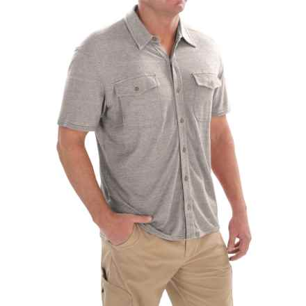 Royal Robbins Canamo Shirt - UPF 50+, Short Sleeve (For Men) in Pewter - Closeouts