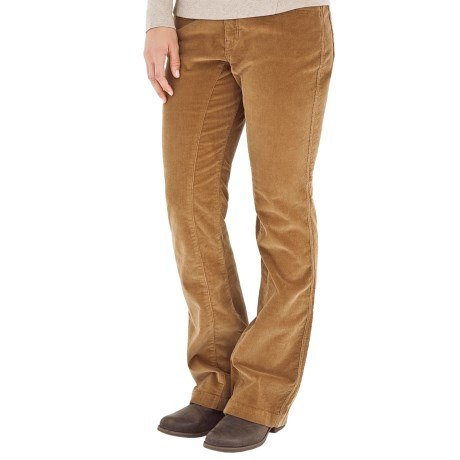 Royal Robbins Canyon Cord Pants - Cotton, Bootcut (For Women) in Tan