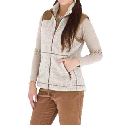 Royal Robbins Canyon Pile Fleece Vest (For Women) in Natural - Closeouts