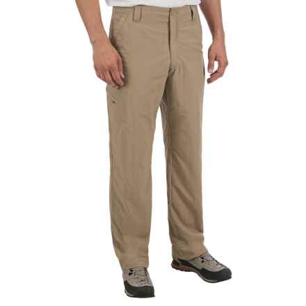 Royal Robbins Cardiff Nylon Pants - UPF 30+ (For Men) in Khaki - Closeouts
