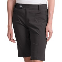 Royal Robbins Cardiff Shorts - UPF 40+ (For Women) in Charcoal - Closeouts