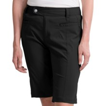 Royal Robbins Cardiff Shorts - UPF 40+ (For Women) in Jet Black - Closeouts