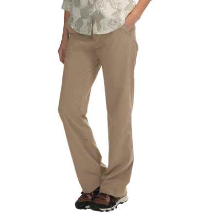 Royal Robbins Cardiff Stretch Pants - UPF 50+ (For Women) in Burro - Closeouts