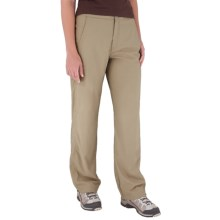 Royal Robbins Cardiff Stretch Traveler Pants - UPF 40+ (For Women) in Khaki - Closeouts
