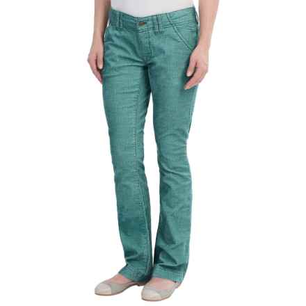 Royal Robbins Carly Pants - UPF 50+ (For Women) in Blizzard Blue - Closeouts