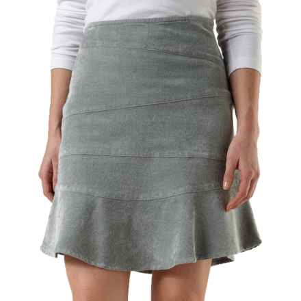 Royal Robbins Carly Skirt - UPF 50+, Stretch Ribbed Canvas (For Women) in Pewter - Closeouts