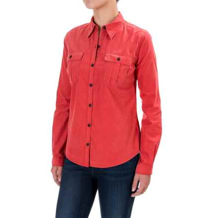 Royal Robbins Cascade Corduroy Shirt - Long Sleeve (For Women) in Thimbleberry - Closeouts