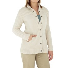 Royal Robbins Chenille Cardigan Sweater (For Women) in Sahara - Closeouts
