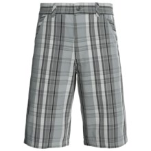 Royal Robbins Chill Out Plaid Shorts (For Men) in Light Pewter - Closeouts