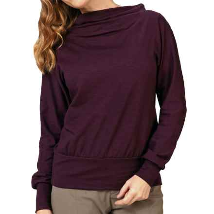 Royal Robbins Chloe Shirt - Long Sleeve (For Women) in Blackberry - Closeouts
