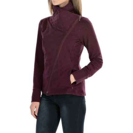 Royal Robbins Chloe Zip Jacket (For Women) in Blackberry - Closeouts