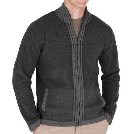 Royal Robbins Clagstone Sweater - Full Zip (For Men) in Charcoal