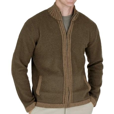 Royal Robbins Clagstone Sweater - Full Zip (For Men) in Turkish Coffee