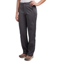 Royal Robbins Classic Cardiff Pants - UPF 40+, Stretch Nylon (For Women) in Charcoal