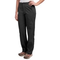 Royal Robbins Classic Cardiff Pants - UPF 40+, Stretch Nylon (For Women) in Jet Black