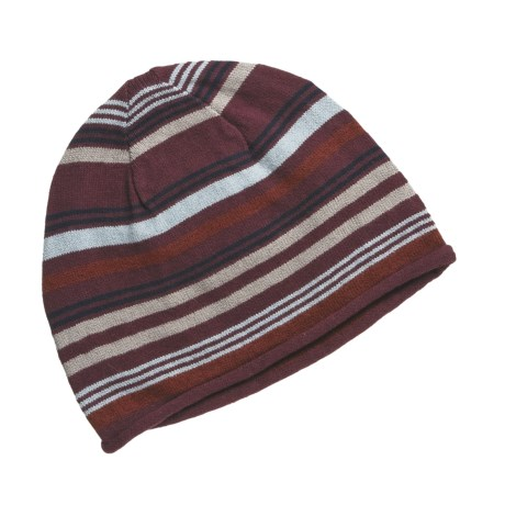 Royal Robbins Colleen Beanie Hat (For Women) in Black Cherry