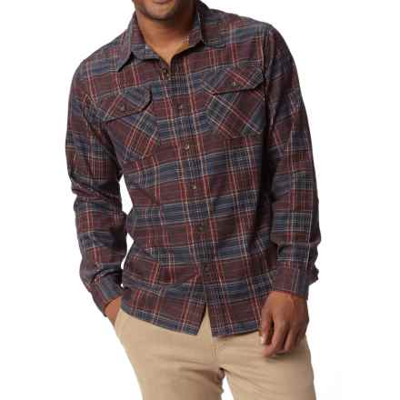 Royal Robbins Colville Corduroy Shirt - UPF 35+, Long Sleeve (For Men) in Dark Ember - Closeouts