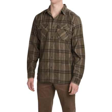 Royal Robbins Colville Corduroy Shirt - UPF 35+, Long Sleeve (For Men) in Fatigue Green - Closeouts