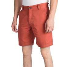 Royal Robbins Convoy Shorts - UPF 50+ (For Men) in Brick - Closeouts