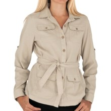 Royal Robbins Cool Mesh Cotton Shirt Jacket - Long Sleeve (For Women) in Soapstone - Closeouts