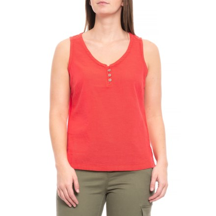 3955cab7063b Clearance. Royal Robbins Cool Mesh Eco Tank Top - Organic Cotton (For Women)  in Flame