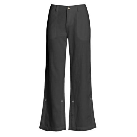 Royal Robbins Cool Mesh Sandal Pants - Cotton (For Women) in Jet Black