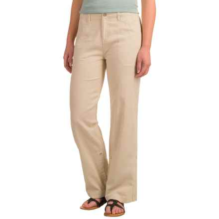Royal Robbins Cool Mesh Sandal Pants - Cotton (For Women) in Soapstone - Closeouts