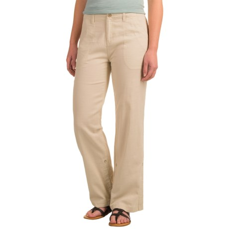 Royal Robbins Cool Mesh Sandal Pants - Cotton (For Women) in Soapstone