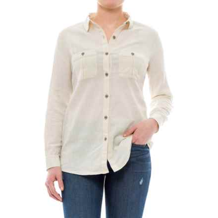 Royal Robbins Cool Mesh Shirt - Long Sleeve (For Women) in Creme - Closeouts