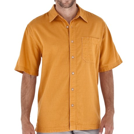 Royal Robbins Cool Mesh Shirt - Short Sleeve (For Men) in Adobe