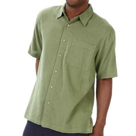 Royal Robbins Cool Mesh Shirt - Short Sleeve (For Men) in Artichoke
