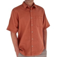 Royal Robbins Cool Mesh Shirt - Short Sleeve (For Men) in Brick - Closeouts