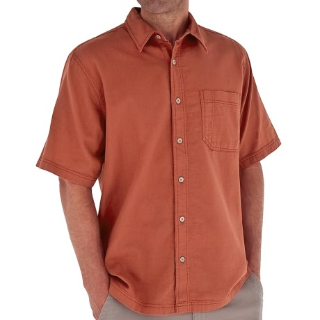 Royal Robbins Cool Mesh Shirt - Short Sleeve (For Men) in Brick