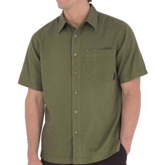 Royal Robbins Cool Mesh Shirt - Short Sleeve (For Men) in Dark Aloe